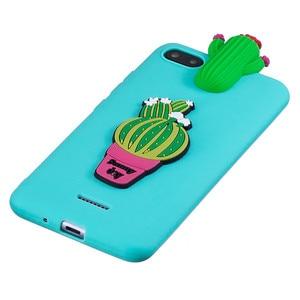 Image 4 - for Xiaomi Redmi 6A Case on for Coque Xiomi Xiaomi Redmi 5A 6A 4X 7A Case Cover 3D Unicorn Doll Toy Soft Silicone Phone Cases