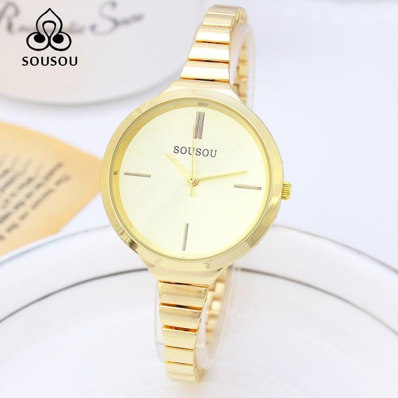 2016 Luxury Gold Bracelet Watch Women Watches Quartz Watch Ladies Watch Hour Montre Femme Relogio Feminino Relojes Mujer