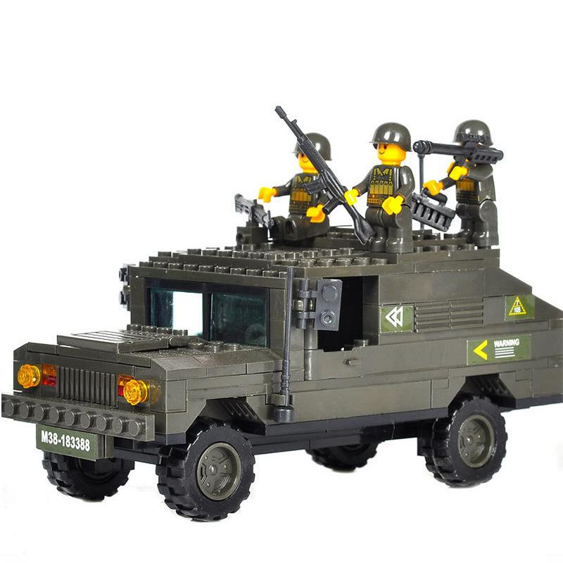 BOHS Armoured Vehicle Army Troops Soldiers Military Figures Building Blocks Children Toys ,191pcs 8 in 1 military ship building blocks toys for boys