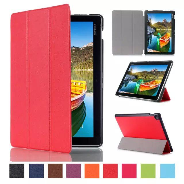 CY Karst Patterns Slim Folding Stand Leather Case Sleep/Wake up Cover Protective Skin For Asus Zenpad 10 Z300CL