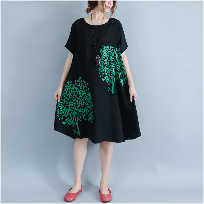 2018 New Arrival Feaday Large Size Women Cotton Print ...