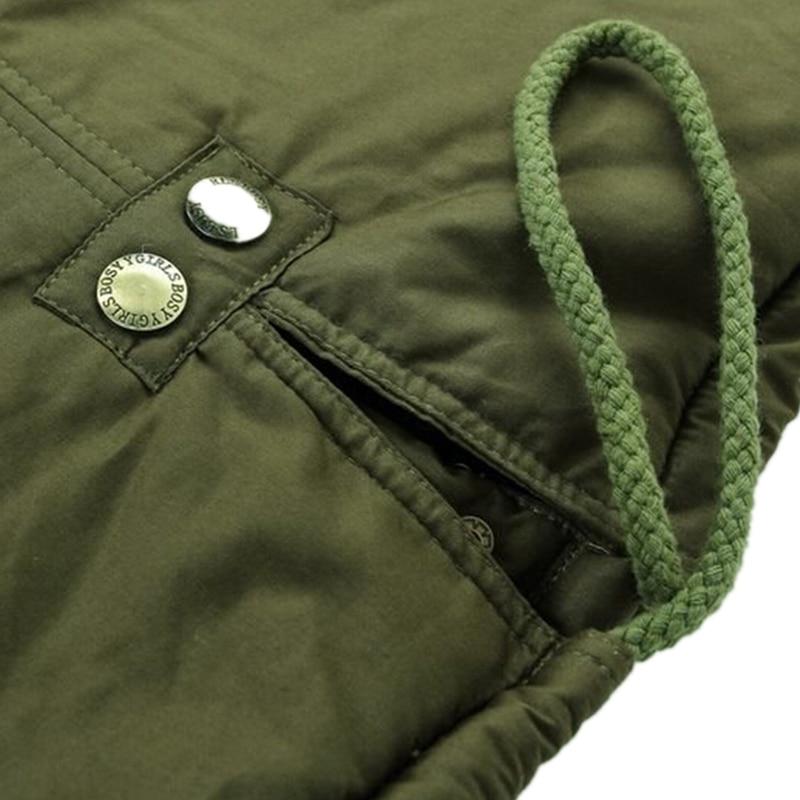 Fourrure Lxt07 army 2019 Capuchon Taille Mode khaki Col Zipper Coton De Rembourré Green Épaississement Nouveau Blue Manteau Lâche Plus navy Parka claret À Black L'hiver Veste 7wRqIUzw