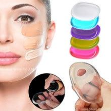 5Pcs Silicone Makeup Sponge Liquid Foundation BB Cream Silicone Sponge Blender Face Powder Applicator Beauty Make