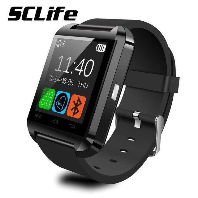 Smart-watch u8 bluetooth smart watch wach deporte podómetro muñequera reloj smartwatch para android teléfono inalámbrico