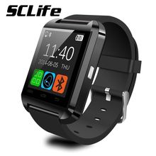 U8 digitaluhr bluetooth smart watch sport pedometer barometer wach drahtlose smartwatch armband uhr für android-handy
