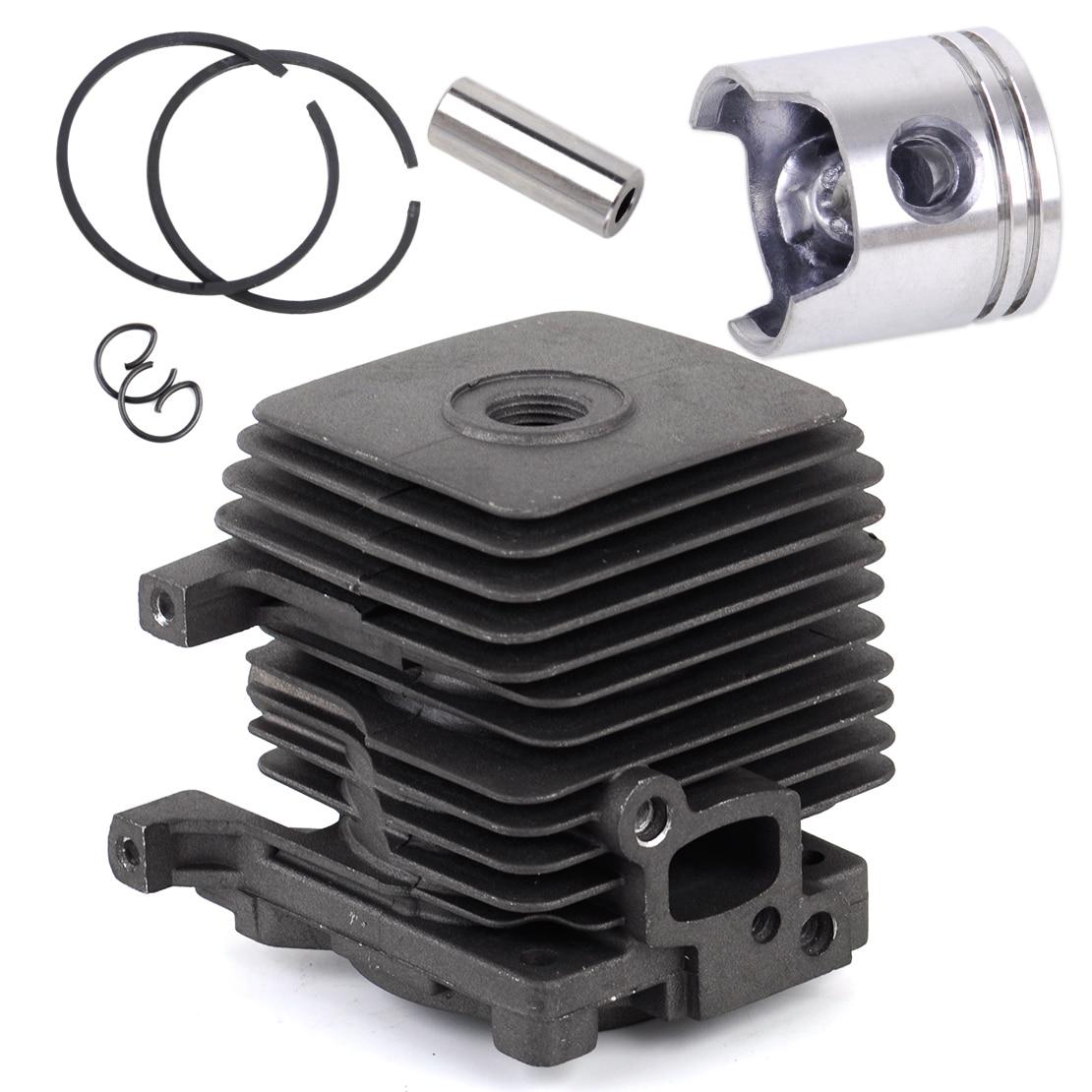 LETAOSK Cylinder Piston Kit Fit for STIHL FS55 FS45 BR45 KM55 HL45 HS45 HS55 4140 020 1202Accessories