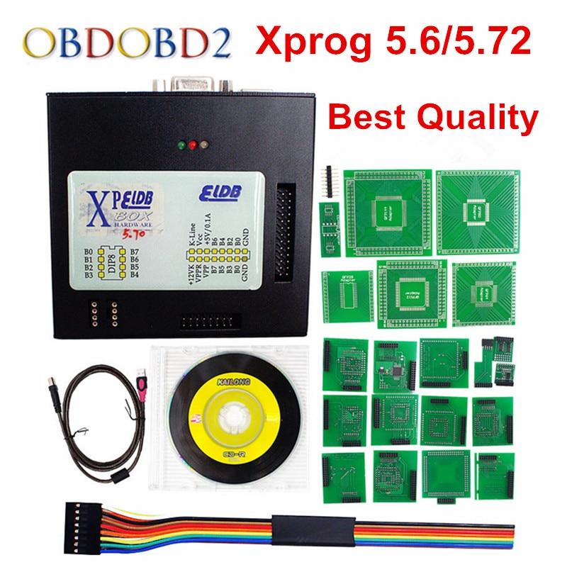 Newest Version XPROG M 5 6 WIth USB Dongle ECU Programmer Xprog M V5 6 ECU
