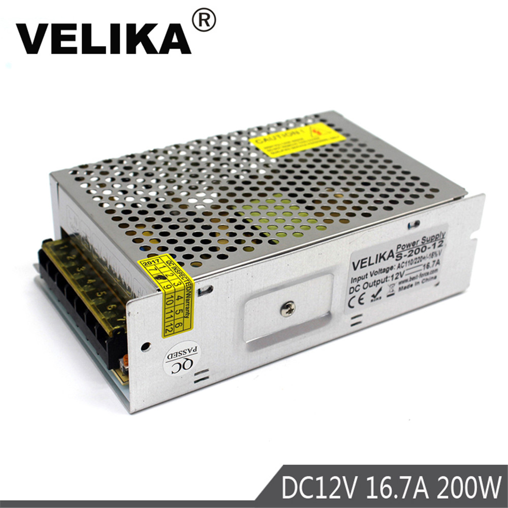 350W 12V 30A Small Volume Single Output Switching power supply AC to DC