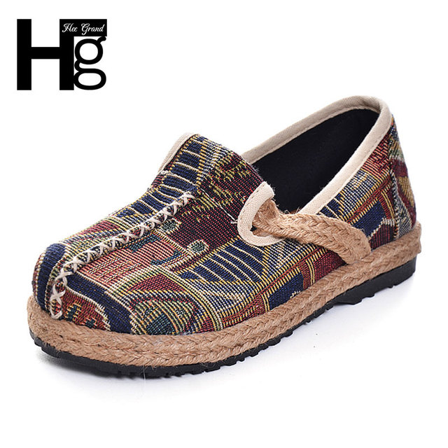 HEE GRAND Fashion Women's Shoes 2017 New Folk-custom Platform Casual Shoe For Woman Size 35-40 XWD5304