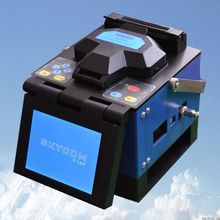 DHL Free Shipping Skycom T-107H Optic Fiber Fusion Splicer Cable Welding Machine as good as Jilong KL280