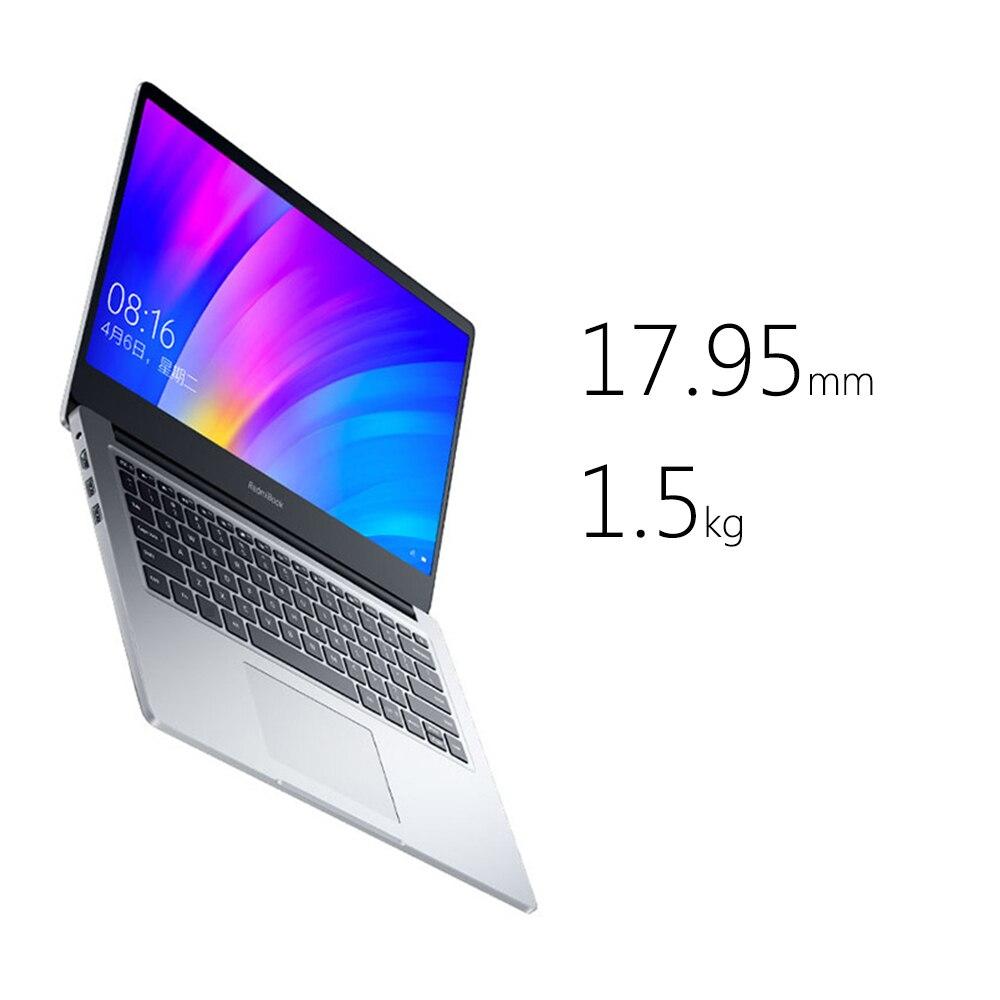 Xiaomi Redmibook 14 ноутбук Intel Core i5 8265u/i7 8565u 8 Гб DDR4 2400 МГц ОЗУ NVIDIA GeForce MX250 - 3