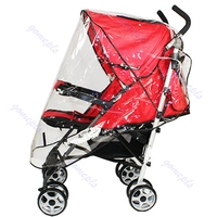 Universal Waterproof Rain Cover Wind Shield Fit Most Strollers Pushchairs Buggys JJ2834