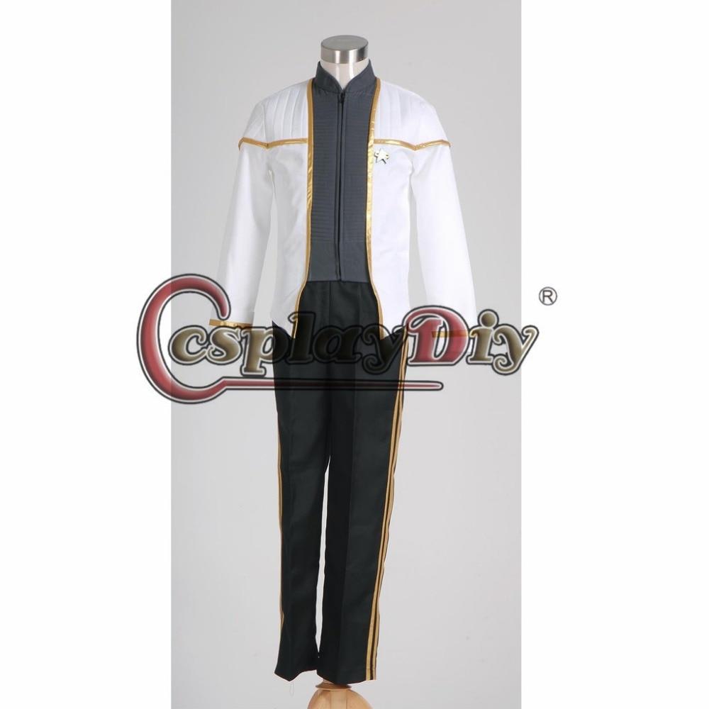 Cosplaydiy Custom Made Star Trek Insurrection Deanna Troi Uniform Costume Adult Women Halloween Carnival Cosplay Costume J5
