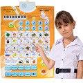 Niños Personajes de Sonido de Pared Idioma Ruso ABC Alfabeto Número Rotafolio Rotafolio, Máquinas de Aprendizaje temprano y Educación