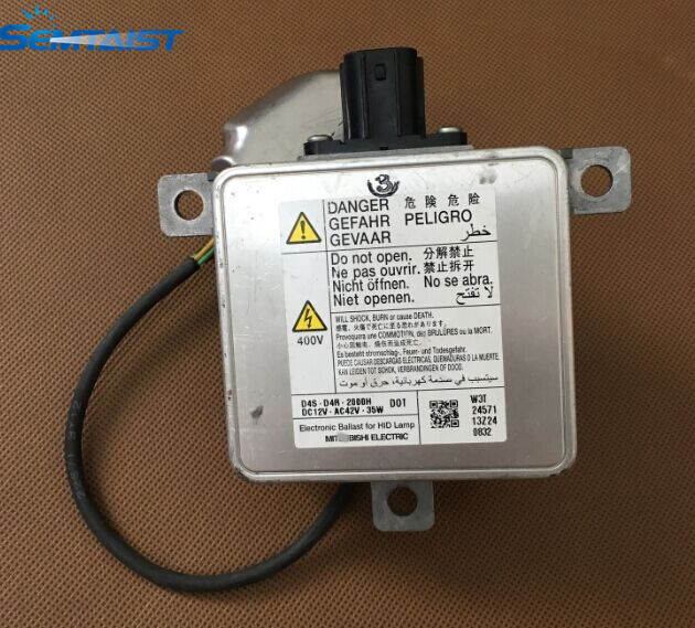 SEMTAIST OEM Xenon HID Headlight Ballast D4S D4R with Igniter W3T24571 W3T23371 W3T21571 used free shipping