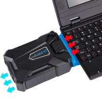 Ice Troll III Gaming Laptop Notebook Cooling Pad Mute Air Extracting Cooling Fan Turbo Heat Radiator