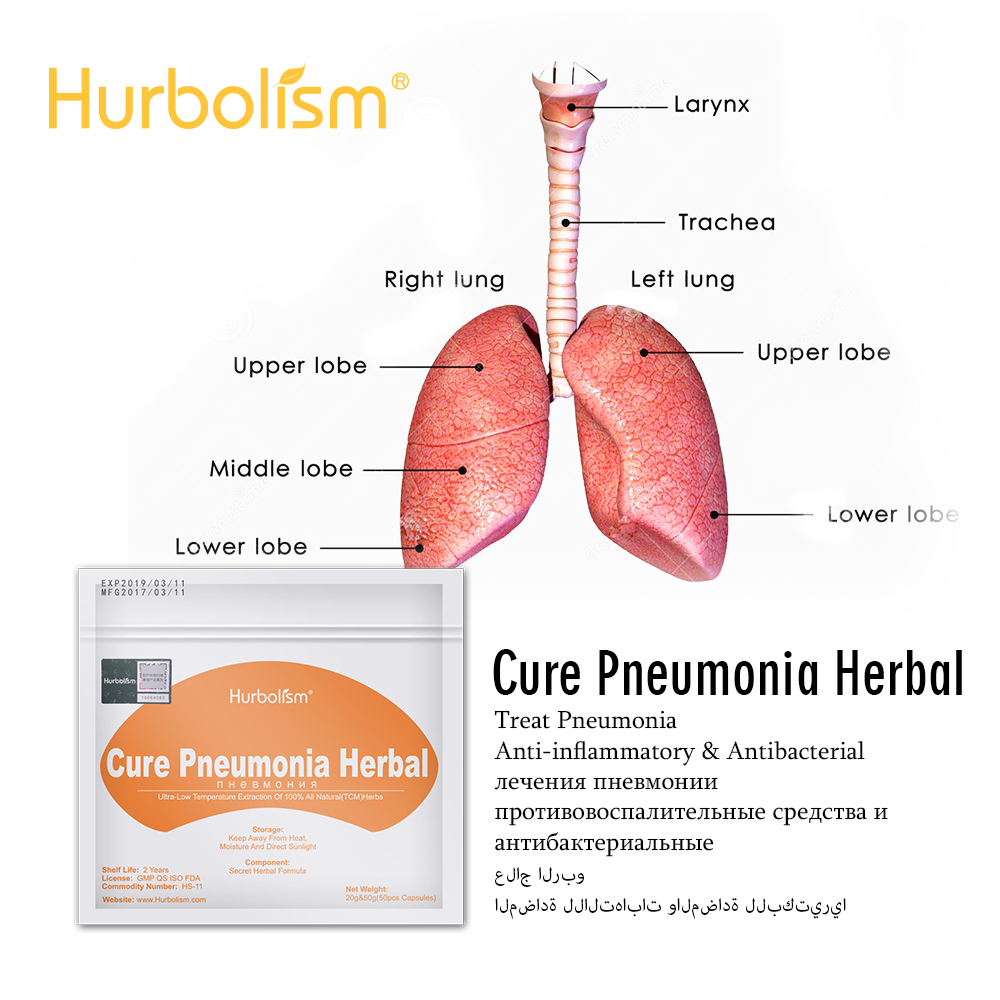 Natural Herbs Formula For Cure Pneumonia Nourish Lungs, Stop Dry Cough, Liquefy Phlegm, And Clear Inner Heat
