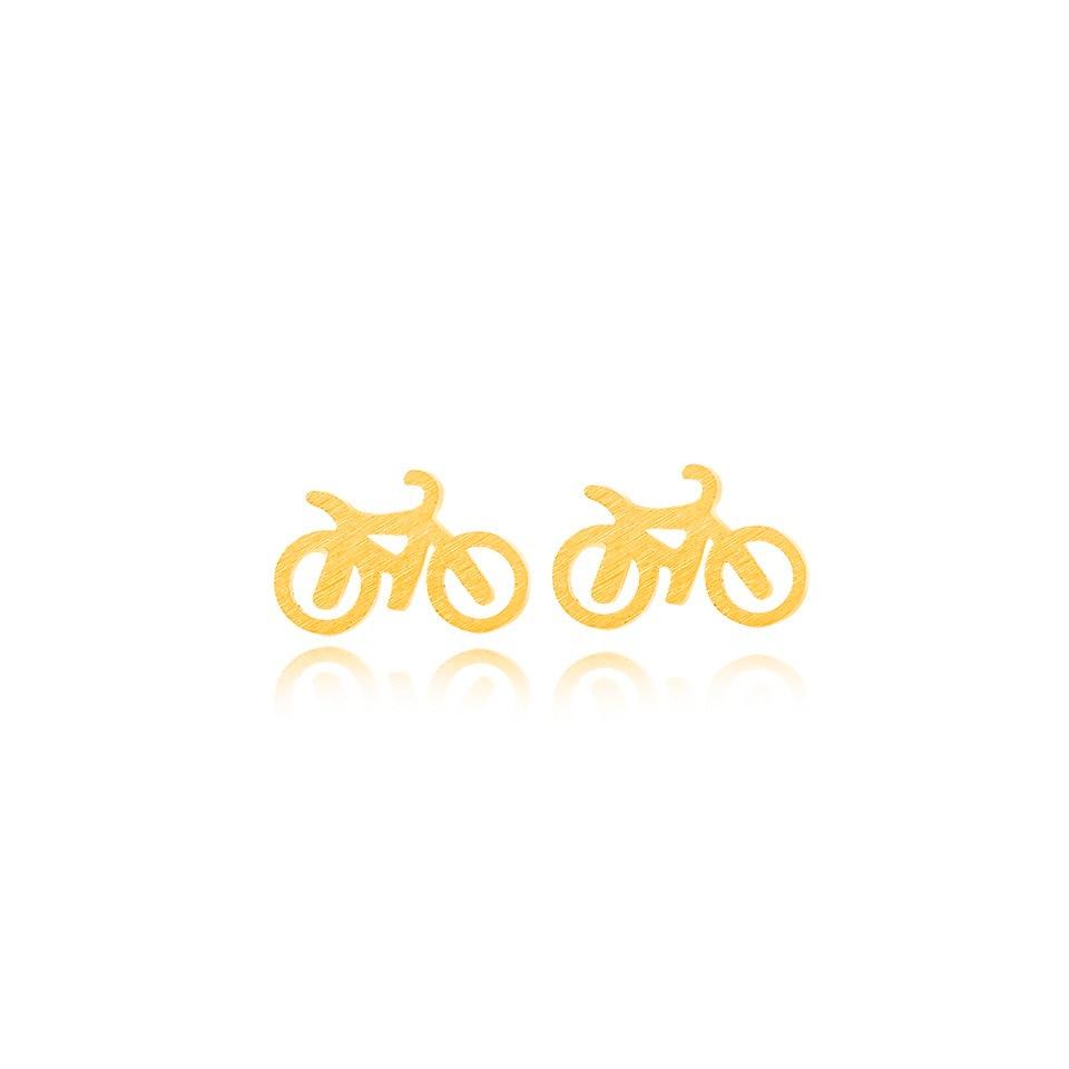 Earings Moda Biker Zərgərlik Şirin Koreya Brincos 2017 Kiçik - Moda zərgərlik - Fotoqrafiya 2
