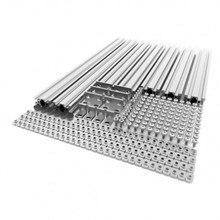 Marco de Metal de extrusión de impresora 3D AM8, Kit completo para actualización Anet A8, envío rápido