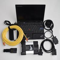 Для BMW ICOM следующий сканер диагностики и программирования инструмент с последние 2018,12 программное обеспечение ista/d ista/p + ноутбук X201 i7 8 ГБ
