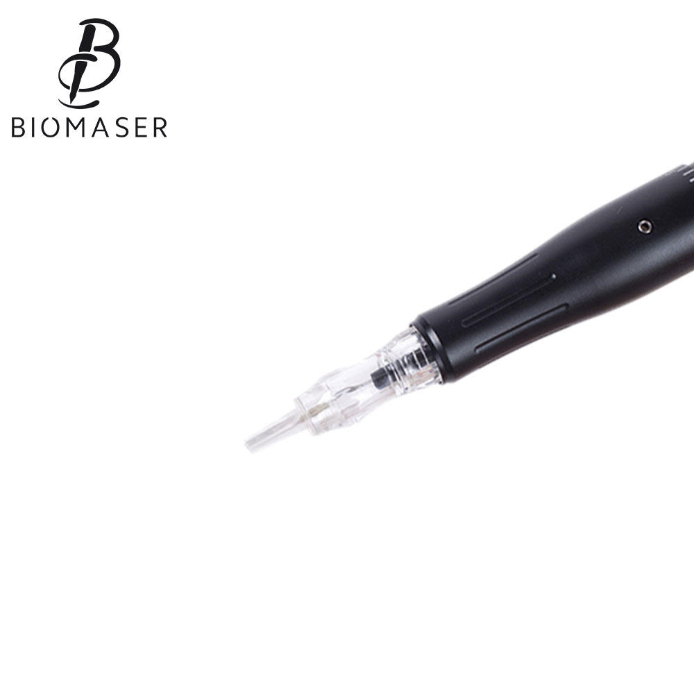 Biomaser Permanent Makeup Machine Eyebrow Tattoo Rotary Professional Permanent makeup Pen Eyebrow Eyeliner Lip Tattoo Gun Set professional eyebrow permanent makeup machine pen