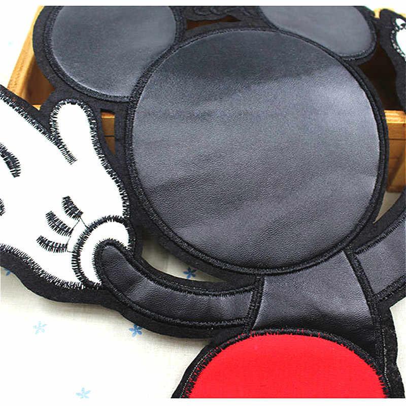 SUEF вышитые наклейки нашивки граффити Микки пуховик сзади DIY нашивка Аппликации Аксессуары для одежды