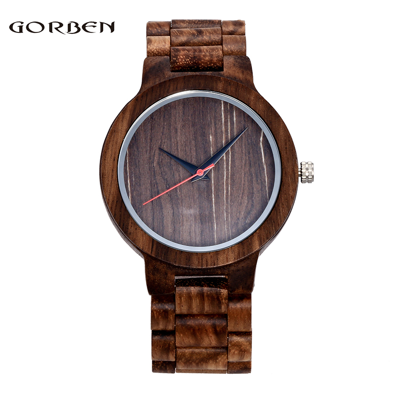 Luxury Brand Wood Watch Men Natural Quartz Movement Men's Analog Wrist Watches for Men Women Relogio Masculino wood watch luxury brand wood watch women analog natural quartz movement diamond small size wristwatches clock relogio masculino