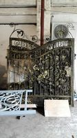 Shanghai China Factory Producing Wrought Iron Gates High Quality Export To U S Model H Wig3