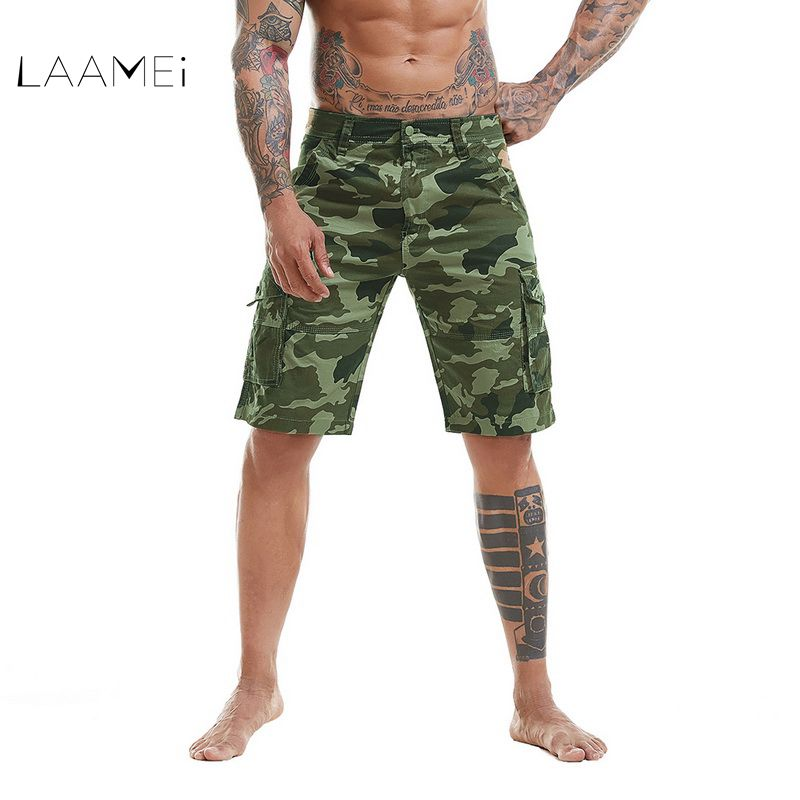 Laamei 2018 New Summer Cargo Shorts Men Top Design Camouflage Military Casual Cool Short ...