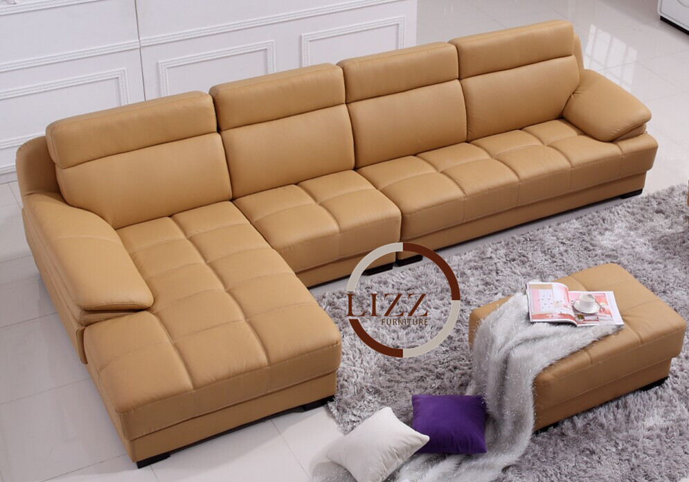 Singapore Leather Sofa LT665