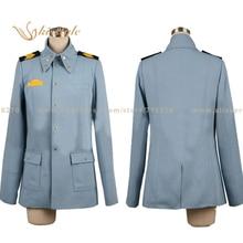 Kisstyle Fashion Strike Witches Eila Ilmatar juutilainen/Illu Uniform COS Clothing Cosplay Costume,Customized Accepted