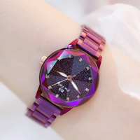 2018 New Luxury lady Crystal   Watch   Women   Dress     Watch   Fashion Rose Gold Quartz   Watches   Female Stainless Steel Wristwatches