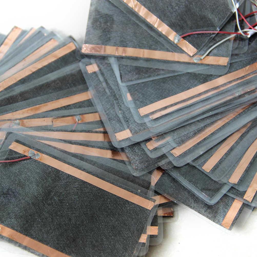 1 pieza de invierno Placa de calor portátil para alfombrilla de ratón zapatos Golves USB calentador almohadilla de masaje para calentar el pie del cuerpo