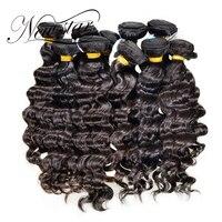 NEW STAR Wholesale 10 Pieces 10 34 Brazilian Loose Deep Salon Supply Virgin Human Weave Hair Extension Bundles Cuticle Aligned