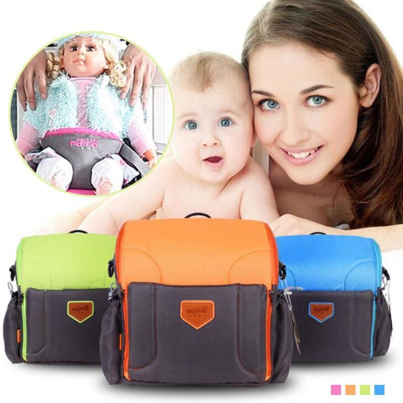 Baby Diaper Bags nappy bags 2 in 1 Maternity Large Capacity Travel Backpack infant Booster Seats baby care nursing Organizer D3 baby care 2в1 butterfly с адаптером латте latte sw110 2 in 1