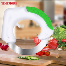 2017 venta caliente gadgets de cocina vegetal chopper slicer anit antideslizante mango y ronda de sharp cuchillo de cocina accesorios