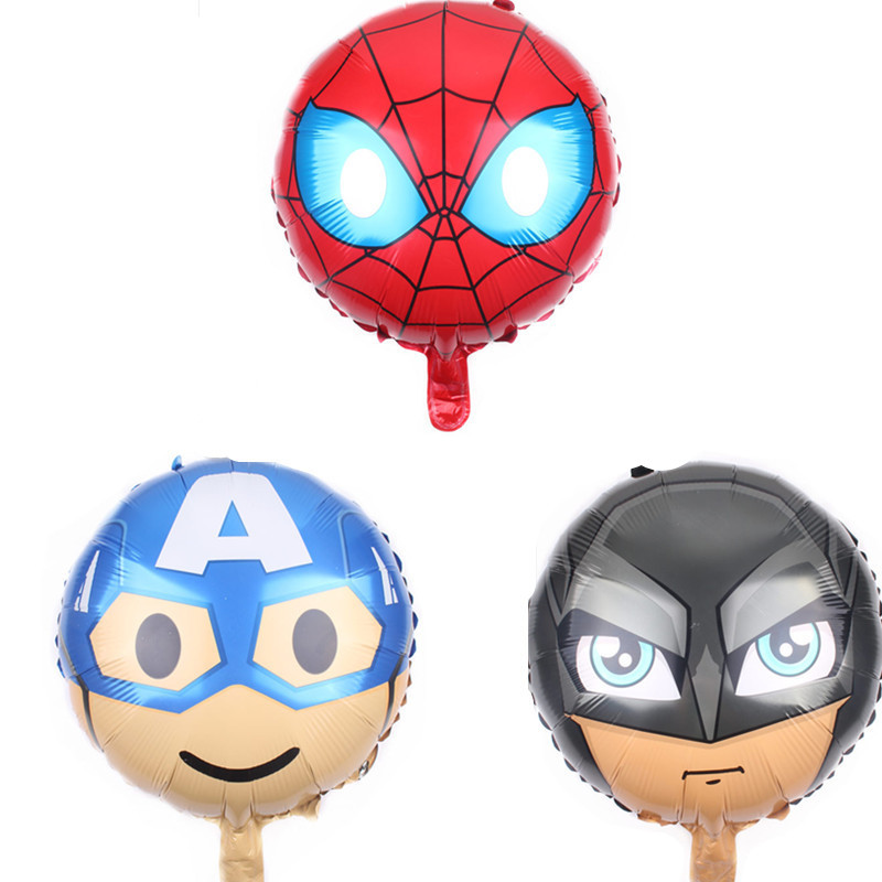 Analytical Hdbfh New 18-inch Round Spiderman Batman Aluminum Film Aluminum Foil Balloon Wholesale Birthday Toy Decoration Nourishing The Kidneys Relieving Rheumatism Ballons & Accessories Festive & Party Supplies