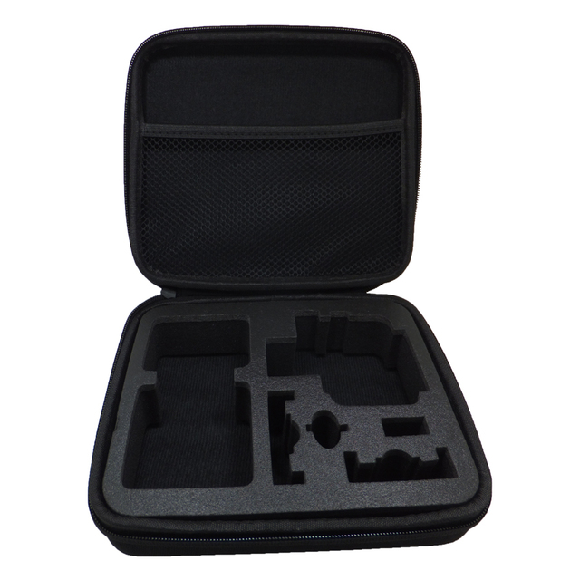 Portable Carry Case Medium Size Accessory Anti-shock Storage Bag for Gopro Hero 5 3/4 Sj 4000 XiaomiYi Action Camera