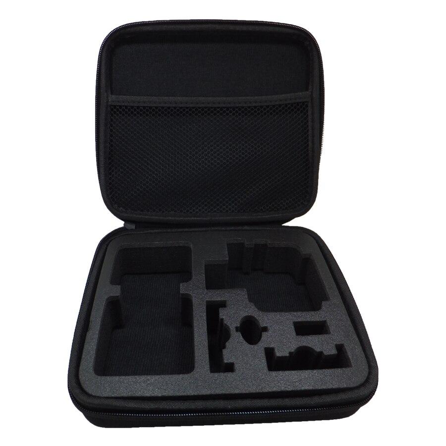 Tragbare Tragetasche Medium Größe Zubehör Anti-shock Aufbewahrungstasche für Gopro Hero 5 3/4 Sj 4000 XiaomiYi Action kamera