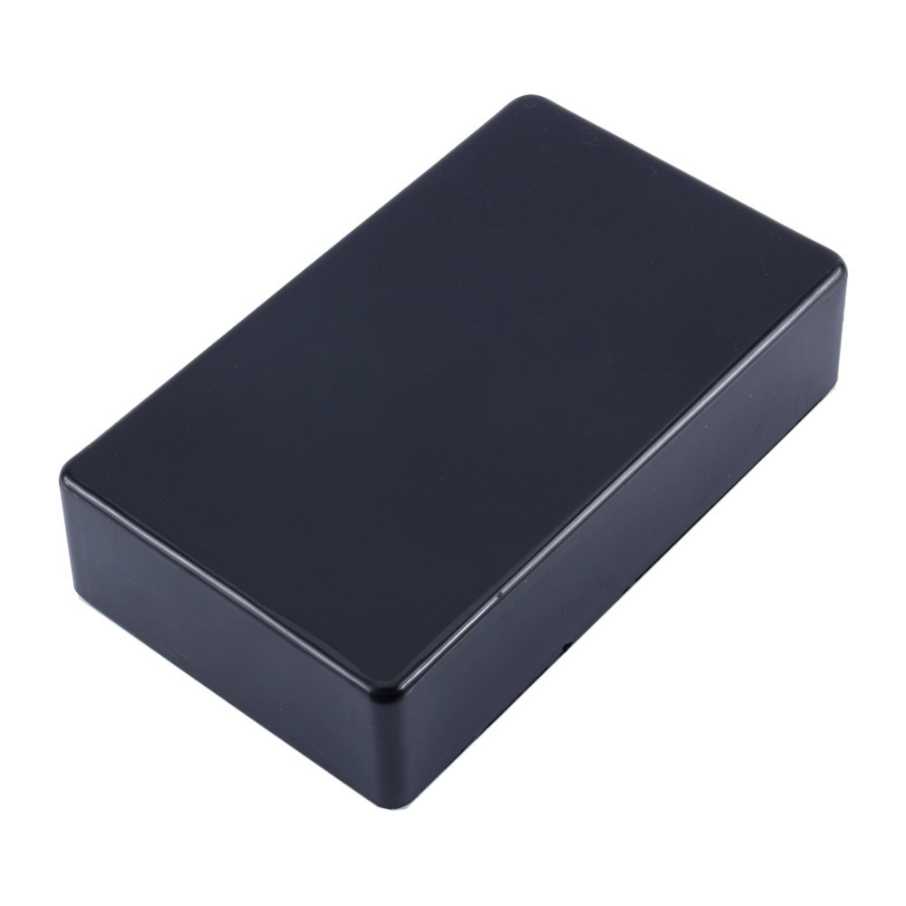 1Pcs New Plastic Electronic Project Box 100x60x25mm Black DIY Enclosure Instrument Case ...