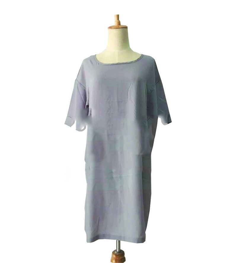 20632053a9 Women Gray Cotton t shirt dress Summer Mini Casual Sexy tshirt Dresses  Girls mujer Plus Size vestidos Clothing Robes femme-in Dresses from Women's  Clothing ...