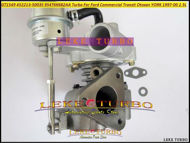 GT1549 452213 452213-0003 X4T6K682AA Y4T6K682AA Turbo Turbocharger For Ford Commercial Transit van 96- For Otosan YORK 2.5L TDI куплю van hool 3b2007 aa тентованный полуприцеп 1997