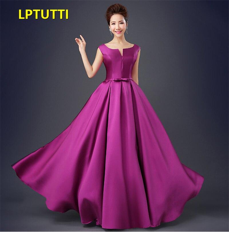 1329ec2e50 LPTUTTI de Gratuating Plus tamaño nuevo para las mujeres elegante fecha  ceremonia fiesta vestido de Gala Formal de lujo vestidos noche largo