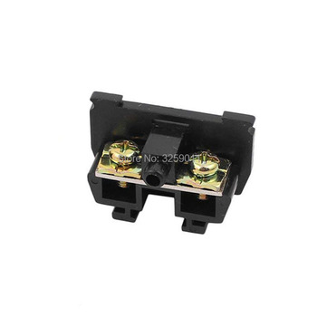 1PCS TBC-30A Suyep 30A/600V Rail Mounted Assembled Screw Terminal Block Cable Connector image