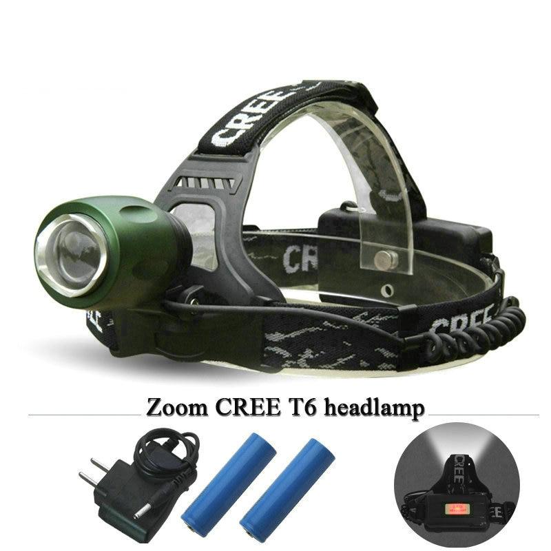 lantern 3000 lumens zoom led headlamp cree xm l T6 head ...