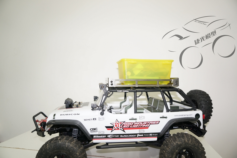 ̿̿̿(•̪ )Axial scx10 jeep 90035 90028 90047 marco superior equipaje ...