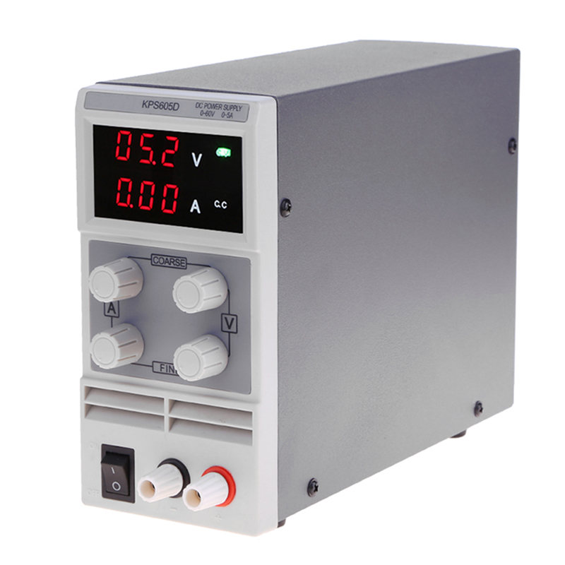 Voltage Regulators KPS605D 60V 5A Switch laboratory DC power supply 0.1V 0.01A Digital Display adjustable Mini DC Power Supply rps6005c 2 dc power supply 4 digital display high precision dc voltage supply 60v 5a linear power supply maintenance