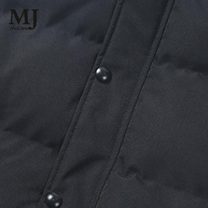 Homme Casaco Manteau Masculino Negro Maijee 2017 Abrigo Invierno Hombre Nuevos Jaqueta Chaquetas De Acolchado Veste Parkas Hombres Abrigos PqB7wOP