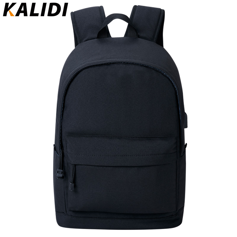 7d0ef99bf5 KALID 15 Inch Laptop Backpack USB Charger Canvas Backpack for Men Mini  Backpacks for Girls Casual Backpack Women Small Male B-in Backpacks from  Luggage ...