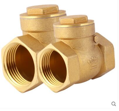 H14W-10T Heavy brass thread screw check valve DN65 80